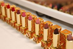 Tory Burch Lip Color: An exquisite lipstick with sheer to vivid color that leaves a rich, lightweight finish. #Sephora #lipstick