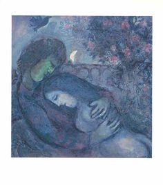 Marc Chagall - Traum der Liebenden
