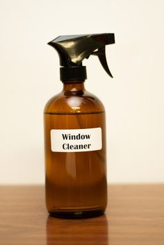 Natural Window Cleaner and more DIY doTERRA Cleaning Recipes on MyNaturalFamily.com #doterra #cleaning #diy