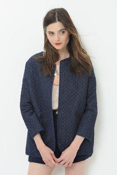 Jacket Olgory Indigo - veste - Des Petits Hauts 3