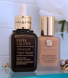 The best night serum and long-wearing foundation