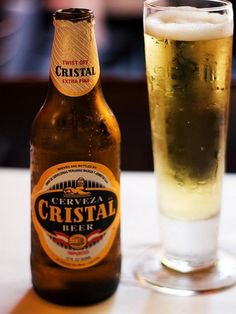 Cristal, the beer version! A Peruvian favourite.