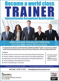 Become a certified TRAINER than just a facilitator  Become a certified TRAINER than just a facilitator