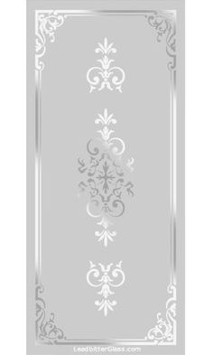Any of our Victorian / Traditional etched glass designs can be incorporated into any glass design and in most glass sizes. We specialise in bespoke decorative glass so the designs are here for your inspiration. Etched Glass Windows, Etched Glass Door, Etched Mirror, Window Glass Design, Frosted Glass Design, Etched Mason Jars, Etched Glassware, Glass Etching Designs, Glass Painting Designs