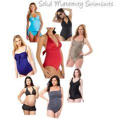 Chic #maternity swimwear