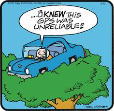 Ziggy unreliable GPS