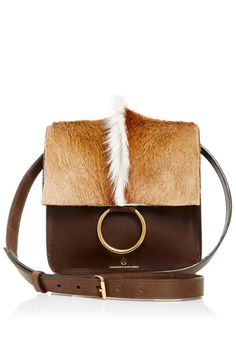 Palma Springbok   Leather Crossbody Bag by Brother Vellies. Handcrafted in  South Africa from natural ca0815682b