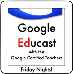 Learn more about Google and their educational resources in a Google Hangout!