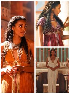"Kylie Bunbury as Suhad in ""Tut"" (From what I've seen, she's one of the only redeeming things about the miniseries)."