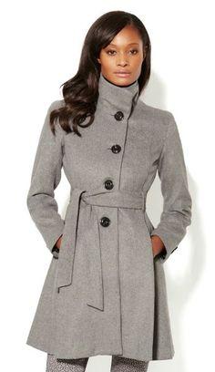 An Olivia Pope coat at NY & Company