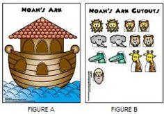 Becoming LDS: Noah's Ark File Folder Game