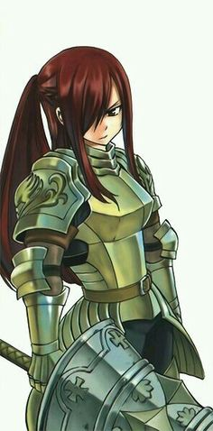 83 Best Fairy Tail Anime Images Erza Scarlet Armor Fairy Tail