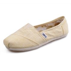 Toms Womens Bamboo pattern shoes Beige   are so lovely. I like them very much.