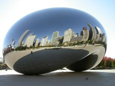 Chicago// New York City is my favorite city, but the beautiful Millennium Park make ChiTown a close second!