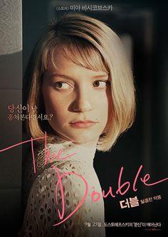 더블: 달콤한 악몽 (The Double) - Korean Poster_Mia Wasikowska Mia Wasikowska, Jean Luc Godard, Cinematography, Movie Stars, Short Hair Styles, Fashion Photography, Pretty Art, Image, Homework