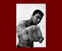 Muhammad Ali Cassius Clay Profiboxen Champion von PrintsPremium