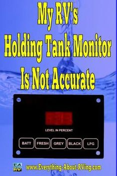 How Come The Holding Tank Gauges On My RV Never Give An Accurate Reading? I am an owner of a Jayco 1997 since I have had it the gauges for the holding gray and fresh tanks always show the same. Rv Camping Checklist, Rv Camping Tips, Travel Trailer Camping, Camping Ideas, Camping Glamping, Camping Stuff, Beach Camping, Travel Trailers, Outdoor Camping