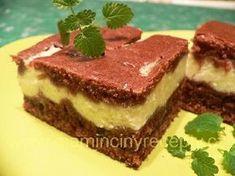 Dvoubarevná tvarohová buchta Tiramisu, Cheesecake, Food And Drink, Ethnic Recipes, Cheesecakes, Tiramisu Cake, Cherry Cheesecake Shooters