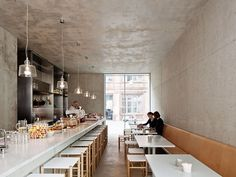 Joachimstrasse | Berlin, Germany | David Chipperfield | 2013 | Bare Concrete | Industrial | Rustic | Interiors | Cafe | Restaurant