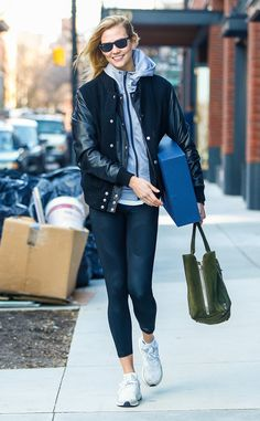 Karlie Kloss from The Big Picture  Errands galore! The model goes about her busy day in New York City.