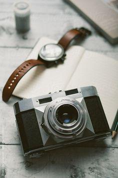 Retro camera by Branislav Jovanović. An exclusive image for Stocksy.com.