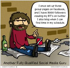 Another fully qualified social media guru