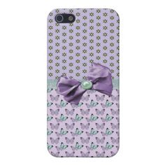 Lavender Butterflies iPhone 5/5S Case