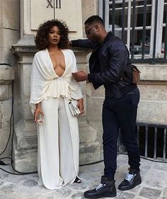 Dwyane Wade And Gabrielle Union Are The Best-Dressed Couple At Paris Fashion Week