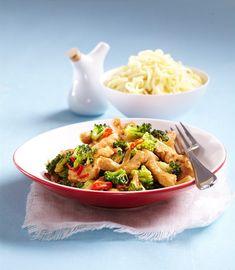 RECEPT DNE: Kuřecí nudličky s brokolicí