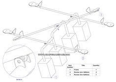 Seesaw (Teeter-Totter) - Playground equipment plan