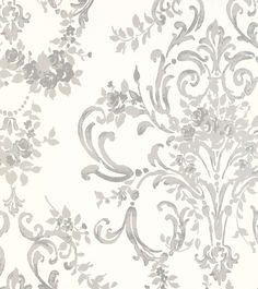 Std Wp Aston Versailles - New Deko Sites Powder Room Wallpaper, Laura Ashley, Versailles, Garden Projects, Decoration, Design Your Own, Swirls, Damask, Scandinavian
