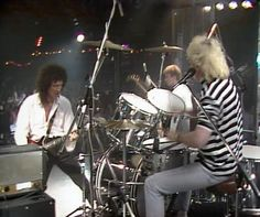 Roger Taylor from Queen - always cool, always on a cool Ludwig Kit!
