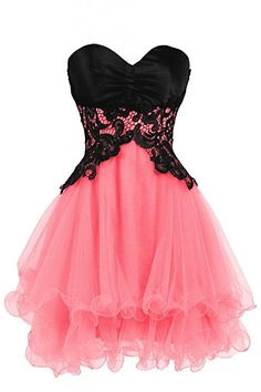Ellames Sweetheart Bridesmaid Short Prom Homecoming Party Dresses For Juniors Blue US 2 at Amazon Women's Clothing store: