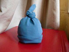 bonnet naissance bleu-1