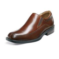 Bogan Mens leather moc toe slip on shoe in Spring 2012 from Florsheim