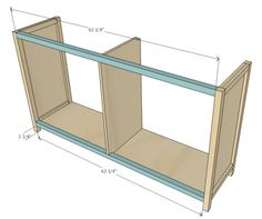 Dresser Plans, Wood Dresser, Mission Furniture, Diy Furniture Plans, Ana White, Wood Projects That Sell, Diy Projects, Woodworking For Kids, Diy Cabinets
