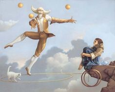the magical realism of Michael Parkes