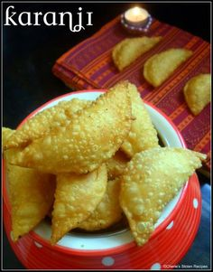 Cherie's Stolen Recipes: Diwali Special - Karanji