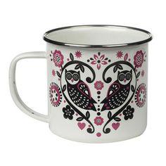 Folklore Enamel Mug now featured on Fab.