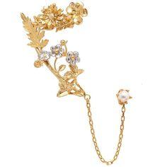 Zimmermann Suspended Link Earrings in Metallics 3jwY5xw
