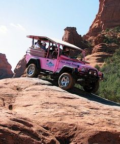 Pink Jeep Tours - this was a blast, I want to go back to the Grand Canyon too