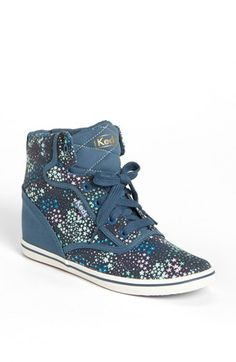Keds® 'Rookie' Wedge High Top Sneaker (Women) available at #Nordstrom