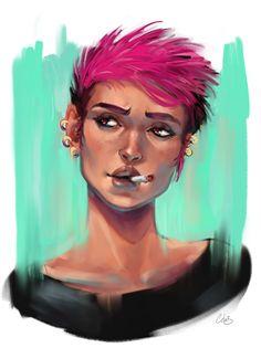 hum ?, Célia Beauduc on ArtStation at https://www.artstation.com/artwork/35W3g