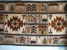 motive traditionale maramuresene - Căutare Google Folk Art, Bohemian Rug, Weaving, Carpet, Textiles, Symbols, Rustic, Traditional, Quilts