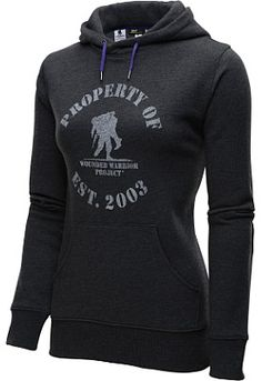 Wounded Warriors Project. Underarmour hoodie.