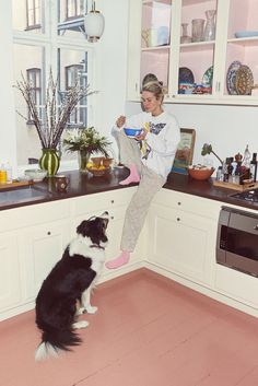 Inside Model and Filmmaker Emma Leth's Art- and Fashion-Filled Home in Copenhagen Küchen Design, House Design, Interior Decorating, Interior Design, Copenhagen, Interior Inspiration, Decoration, Home Kitchens, Interior And Exterior