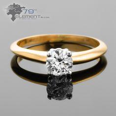 Pierścionek z diamentem, idealny na zaręczyny. Niskie ceny, wysoka jakość Sklep internetowy 79diamenty.pl #pierscionkizareczynowe