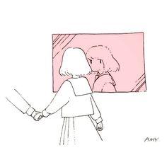 Imagem de amy, girl, and illustration Aesthetic Art, Aesthetic Anime, Manga Art, Anime Art, Character Illustration, Illustration Art, Character Art, Character Design, Arte Do Kawaii