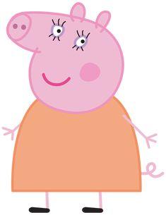 Mummy Pig Peppa Pig Transparent PNG Image