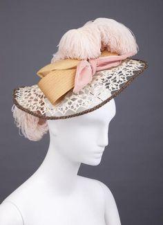 Hat, 1894, via The Goldstein Museum of Design.